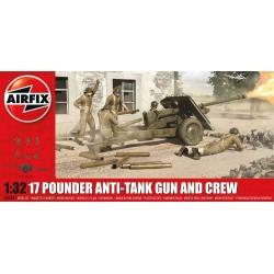 Airfix 1/32 17 Pdr Anti-Tank Gun