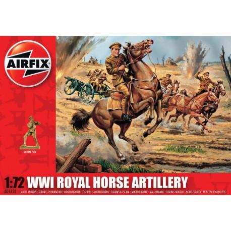 Airfix WWI Royal Horse Artillery