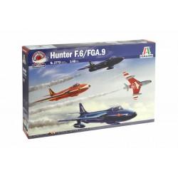 Italeri 1/48 HAWKER HUNTER F MK. 6/9