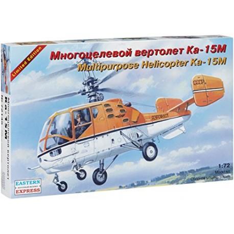 Eastern Express 1/72 Kamov Ka-15M Russ multipurpose helicopt.