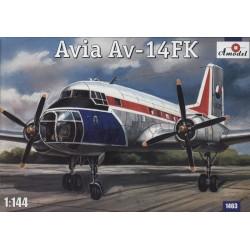 AModel 1/144 Avia Av-14 FK