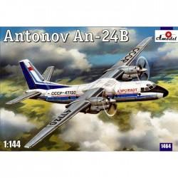 AModel 1/144 Antonov An-24B passenger airliner
