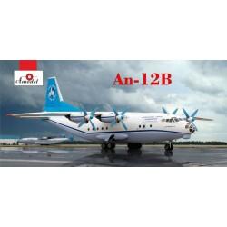 AModel 1/144 Antonov An-12B cargo aircraft