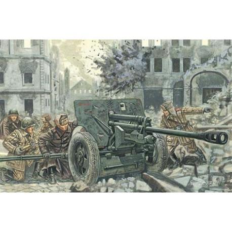 Italeri WWII ZIS3 AT GUN W/SERVANTS