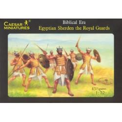 Caesar Miniatures 1/72 Egyptian Sherden the Royal Guard