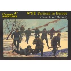 Caesar Miniatures 1/72 European Partisans
