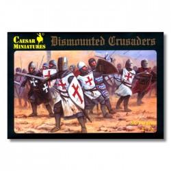 Caesar Miniatures 1/72 Dismounted Crusaders