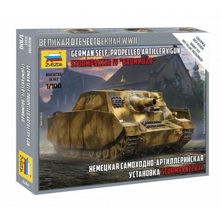 Zvezda 1/100 Sturmpanzer IV Brummbar