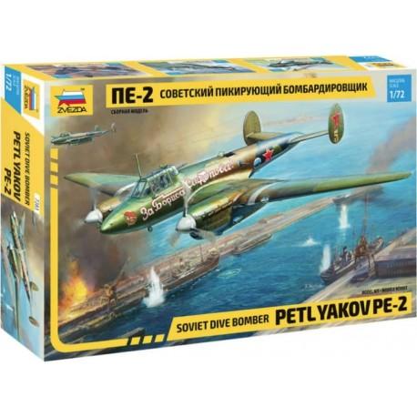 Zvezda 1/72 Petlyakov Pe-2