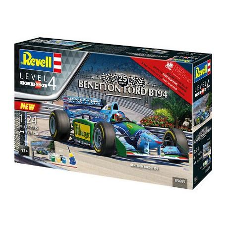 Revell 1/24 Gift Set 25th Anniversary Benetton Ford