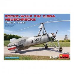 Miniart 1/35 Focke-Wulf Fw C.30A Heuschrecke. Early Prod