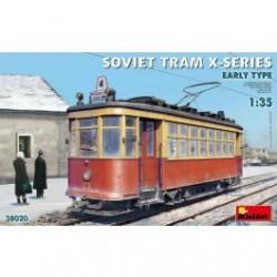 Miniart 1/35 Soviet Tram X-Series. Early Type.
