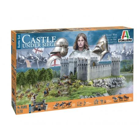 Italeri 1/72 CASTLE UNDER SIEGE - 100 Years War 1337/1453 - BATTLESET