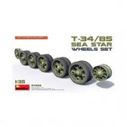 Miniart 1/35 T-34/85 Sea Star Wheels Set