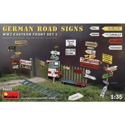 Miniart 1/35 German Road Signs WW2 (Eastern Front Set 1)