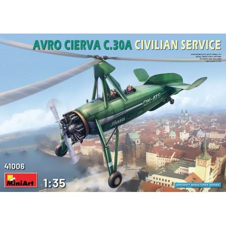 Miniart 1/35 Avro Cierva C.30A Civilian Service