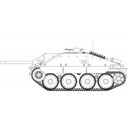 Airfix 1/35 JagdPanzer 38 tonne Hetzer Late Version