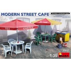 Miniart MODERN STREET CAFE 1/35