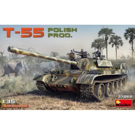 Miniart T-55 POLISH PROD. 1/35