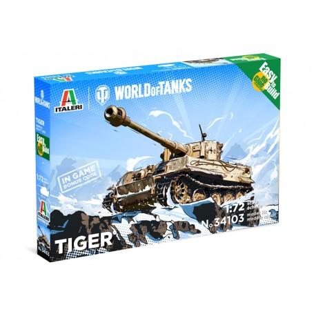 Italeri World of Tanks Pzkpfw.VI Tiger I 1/72