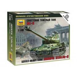Zvezda 1/100 IS-2 HEAVY SOVIET TANK WWII