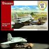 Special Hobby 1/72 Messerschmitt Me 163 A with Scheuch-Schlepper (resin parts)