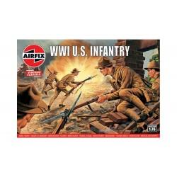 Airfix 1/76 WWI U.S. Infantry, Vintage Classics