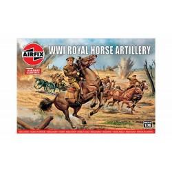 Airfix 1/76 WWI Royal Horse Artillery, Vintage Classics