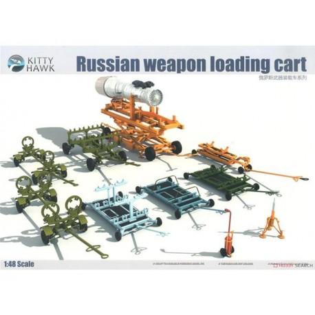 Kitty Hawk Russian Weapon Loading Cart in 1:48