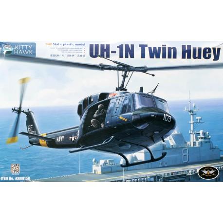 Kitty Hawk UH-1N Twin Huey in 1:48