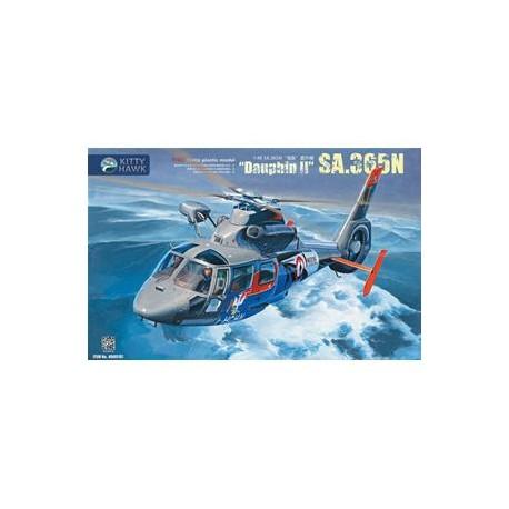 Kitty Hawk Sa.365N Dauphin II in 1:48