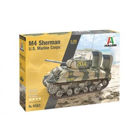 Italeri 1/35 M-4 Sherman U.S. Marines Corps