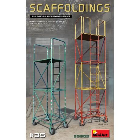 Miniart 1:35 SCAFFOLDINGS