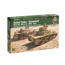 Italeri M 13/40 - M14/41e Semovente 100% NUOVO STAMPO 1:56