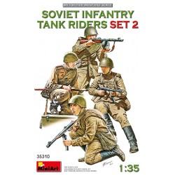 Miniart 1/35 SOVIET INFANTRY TANK RIDERS SET 2