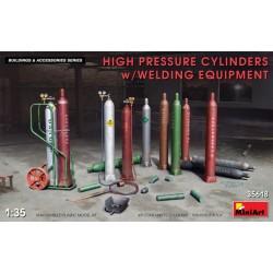 Miniart 1/35 High Pressure Cylinders w/Welding Equipment