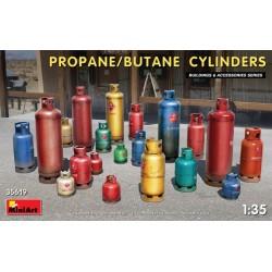 Miniart 1/35 Propane/Butane Cylinders