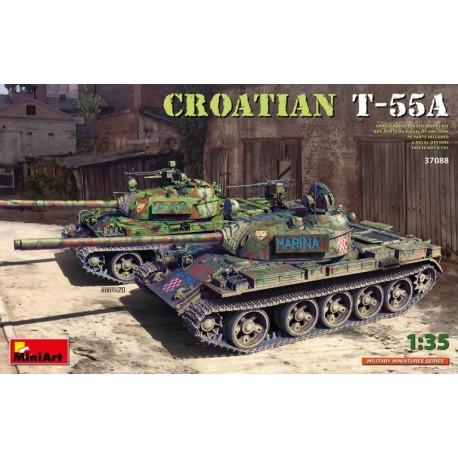 Miniart 1/35 Croatian T-55A