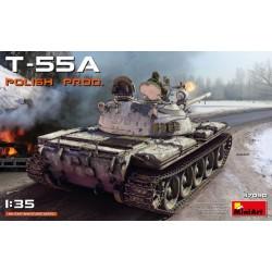 Miniart 1/35 T-55A POLISH PRODUCTION