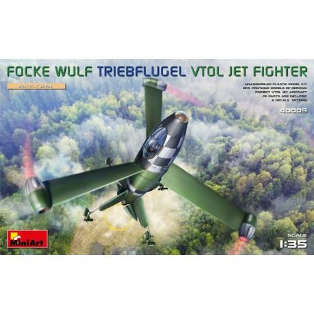 Miniart 1/35 Focke Wulf Triebflugel (VTOL) Jet Fighter
