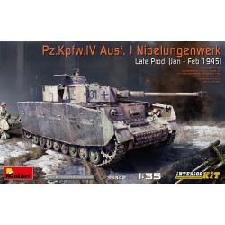Miniart 1/35 Pz.Kpfw.IV Ausf. J Nibelungenwerk Late Prod. (Jan - Feb 1945)
