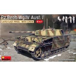 Miniart 1/35 Pz.Beob.Wg.IV Ausf. J Late/Last Prod. 2 in 1 w/Crew