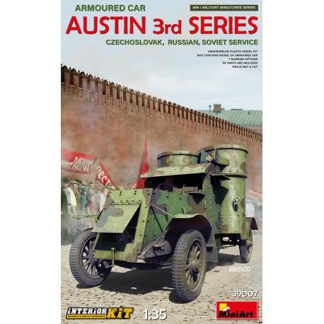 Miniart 1/35 Austin Armoured Car 3rd Series: Czech., Russian, Soviet Service