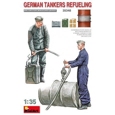Miniart 1/35 German Tankers Refueling