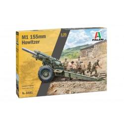 Italeri 1/35 M1 155mm Howitzer with crew - include 6 figurini