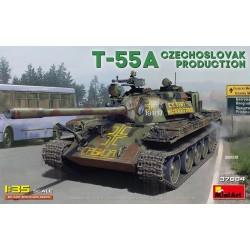 Miniart 1/35 T-55A Czechoslovak Prod.