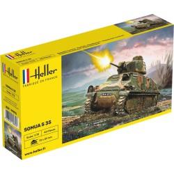 Heller: Panzer Somua in 1:72