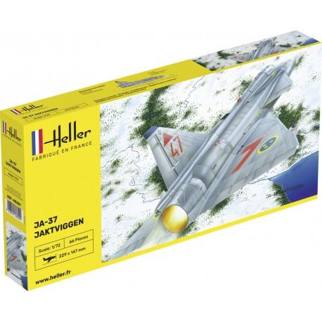 Heller: Ja-37 Jaktviggen in 1:72