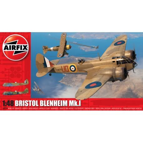 Airfix: Bristol Blenheim Mk.1 in 1:48