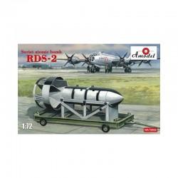 Amodel: Soviet atomic bomb RDS-2 in 1:72